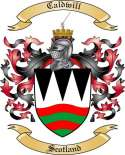 Caldwill Family Crest from Scotland