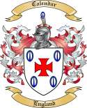 Calendar Family Coat of Arms from England