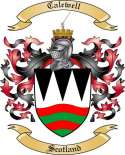 Calewell Family Coat of Arms from Scotland