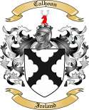 Calhoon Family Crest from Ireland