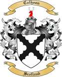 Calhoon Family Crest from Scotland