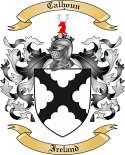 Calhoun Family Crest from Ireland