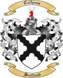 Calhoun Family Crest from Scotland