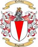 Callebs Family Crest from England