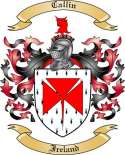 Callin Family Coat of Arms from Ireland