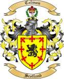 Calmon Family Crest from Scotland