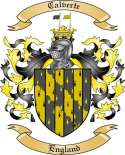 Calverte Family Coat of Arms from England2