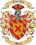 Camachon Family Crest from Spain
