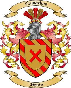 Camachos Family Coat of Arms from Spain