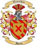 Camachos Family Crest from Spain