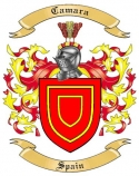 Camara Family Crest from Spain