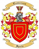 Camarero Family Coat of Arms from Spain