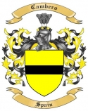 Cambero Family Coat of Arms from Spain