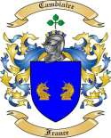 Cambiaire Family Coat of Arms from France