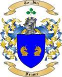 Cambiel Family Crest from France