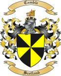 Camble Family Coat of Arms from Scotland
