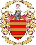 Cambrone Family Coat of Arms from Scotland
