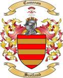 Cameron Family Crest from Scotland