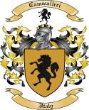 Cammalleri Family Crest from Italy