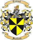 Cammell Family Crest from Scotland