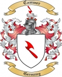 Cammer Family Crest from Germany