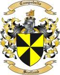 Campobello Family Crest from Scotland