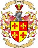 Campos Family Coat of Arms from Spain
