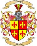 Camps Family Coat of Arms from Spain