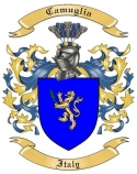Camuglia Family Coat of Arms from Italy2