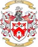 Canady Family Coat of Arms from Ireland