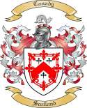 Canady Family Coat of Arms from Scotland