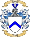Canale Family Coat of Arms from Italy2