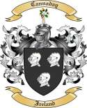 Cannaday Family Coat of Arms from Ireland