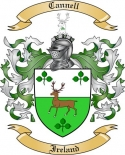 Cannell Family Coat of Arms from Ireland