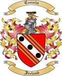 Cannin Family Coat of Arms from Ireland