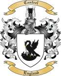 Cantrel Family Coat of Arms from England
