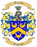 Canute Family Coat of Arms from England