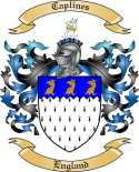 Caplines Family Coat of Arms from England