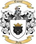 Caponi Family Coat of Arms from Italy