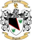 Capstaff Family Coat of Arms from England