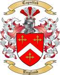 Capstick Family Crest from England2