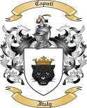 Caputi Family Crest from Italy