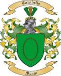 Carabello Family Crest from Spain