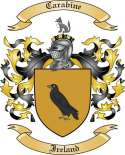 Carabine Family Coat of Arms from Ireland