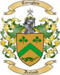 Caraghen Family Crest from Ireland