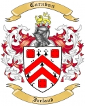 Caravan Family Coat of Arms from Ireland
