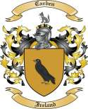 Carben Family Crest from Ireland