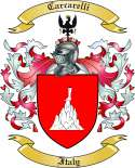 Carcarelli Family Coat of Arms from Italy