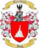 Carcaterra Family Crest from Italy