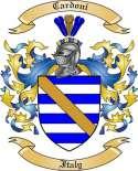 Cardoni Family Coat of Arms from Italy